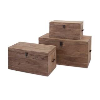 Urban Acacia Wood Trunks (Set of 3)
