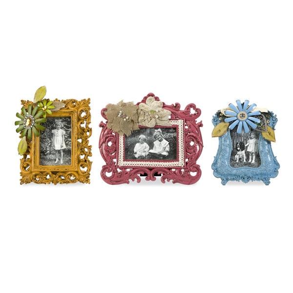 Abbbott Embellished Photo Frames (Set of 3)