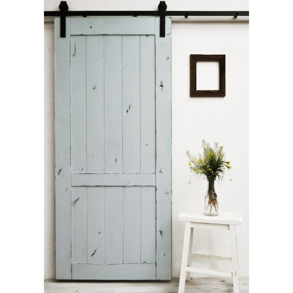 dogberry country vintage 36 x 82 inch barn door with