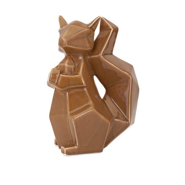Chestnut Porcelain Squirrel
