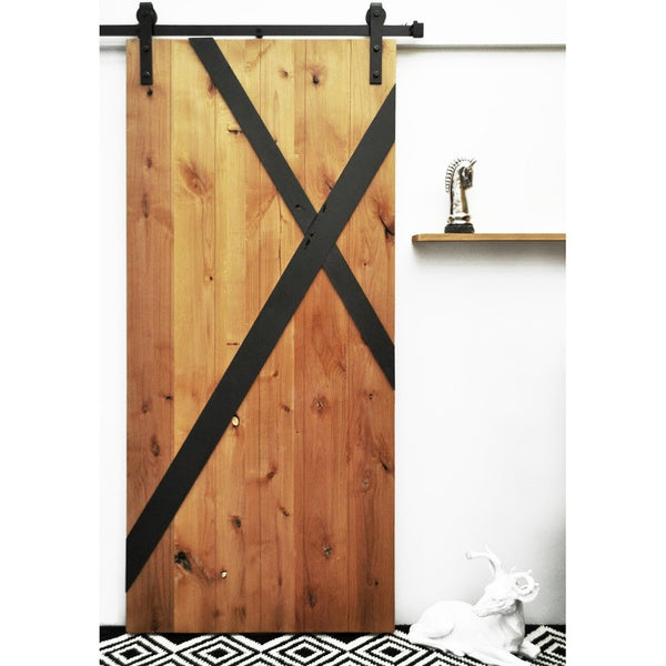 Dogberry mod x 36 x 82 inch barn door with sliding for 48 inch barn door