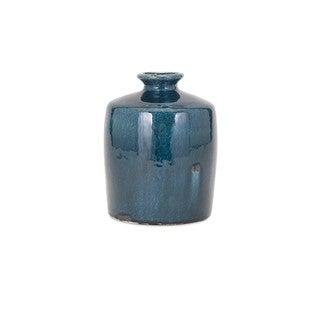 Arlo Blue Small Vase