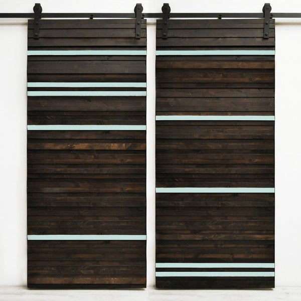 Dogberry line 39 em up 82 inch double barn 17638252 for 48 inch barn door