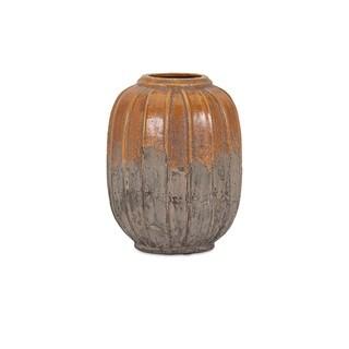 Simone Orange Stone Small Ceramic Vase
