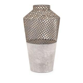 Rowan Large Metal Vase