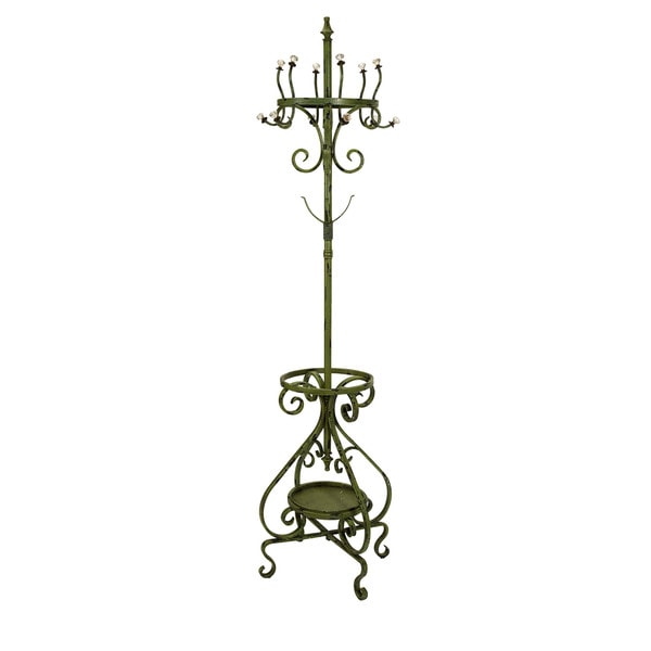 Louise Green Coat Rack