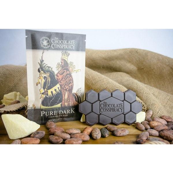 The Chocolate Conspiracy Dark Chocolate Bars (Pack of 2) 16238516