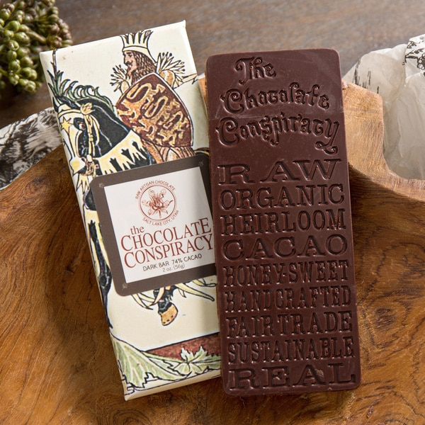 The Chocolate Conspiracy Dark Chocolate Bars (Pack of 2)