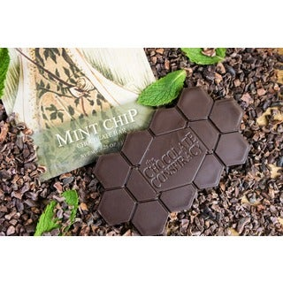 The Chocolate Conspiracy Mint Chip Bars (Pack of 2)