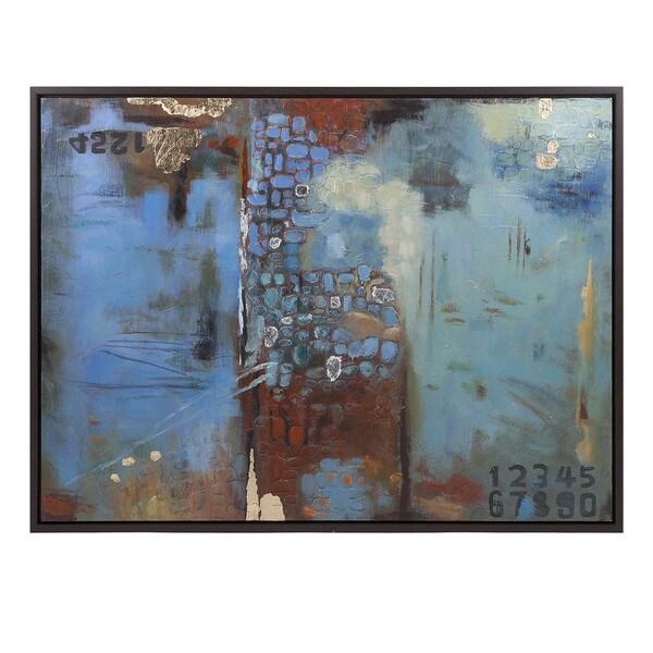 Intensity Framed Oil Painting