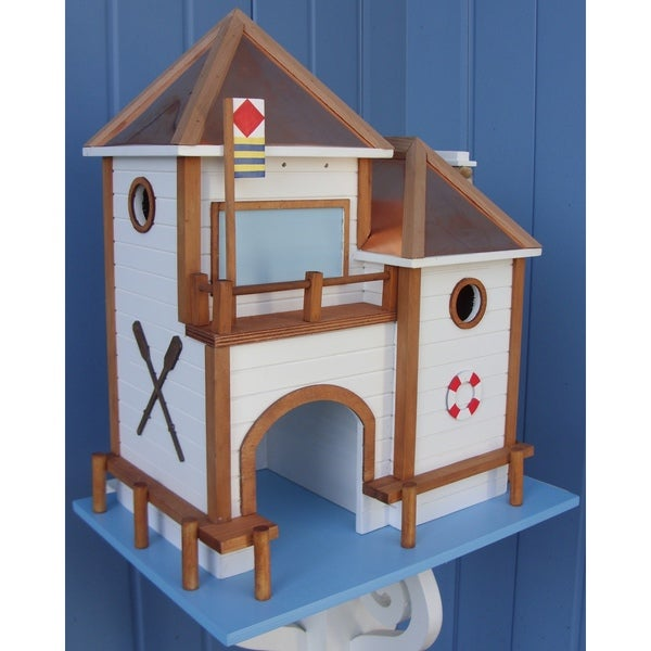 Home Bazaar Lake House Birdhouse