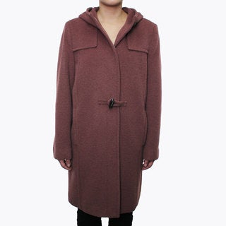 Hilary Radley Women's Alpaca Blend Toggle Coat