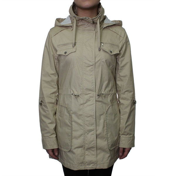 Esprit Women's Waxed Cotton Anorak Jacket