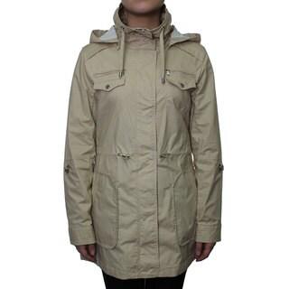 Esprit Women's Waxed Cotton Anorak Jacket