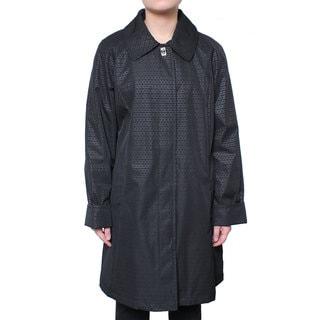 Braetan Women's Rain Jacket with Clip Front Closure