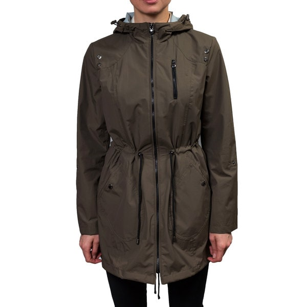 Laundry Women's Hooded Zip Front Anorak
