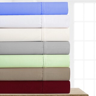 Casa Fiori-1000 Thread Count Egyptian Cotton Blend 6-piece Sheet Set