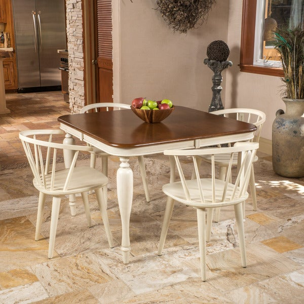 Christopher Knight Home Oakdale 5-piece Spindle Wood Dining Set