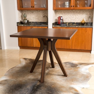 Christopher Knight Home Tehama Square Counter Height Wood Mid-century Style Dining Table
