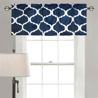 Lush Decor Geo Valance