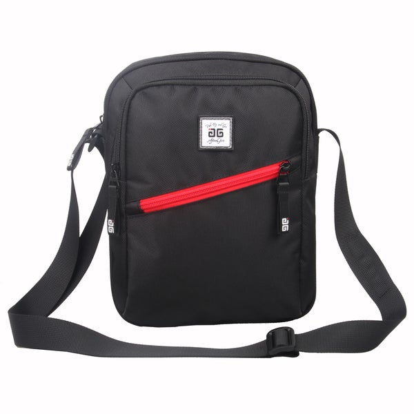 AfterGen Black Shoulder Messenger Bag