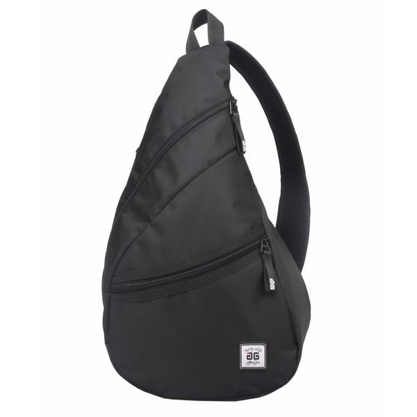 AfterGen Black Sling Backpack