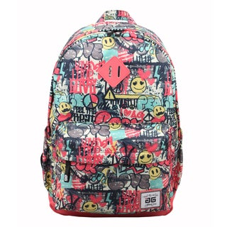 AfterGen Graffiti Smiley Classic Backpack