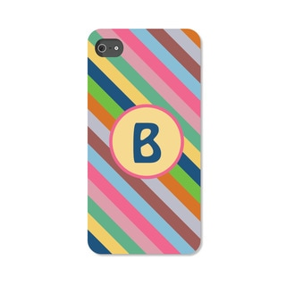 Colorful Stripes Personalized iPhone 4 Case