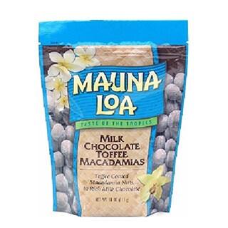 Mauna Loa Milk Chocolate with Toffee and Macadamias