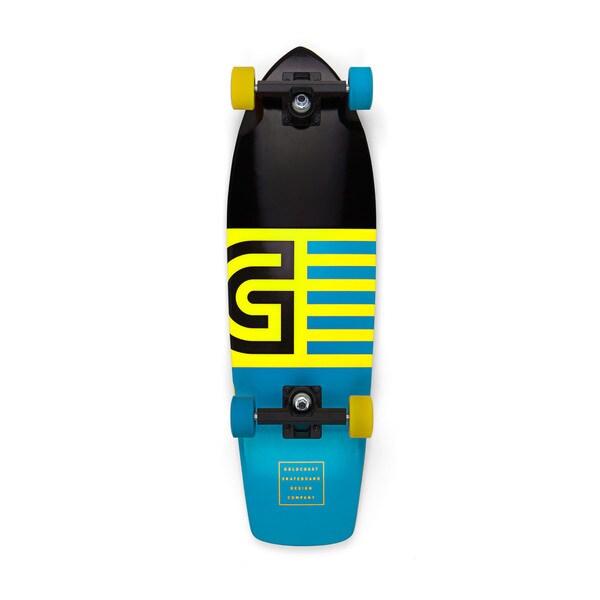 GoldCoast Jetty Orange Cruiser Skateboard Complete
