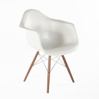 Hans Andersen Home Mid Century Eiffel Arm Chair w/ Wooden Dowel Legs