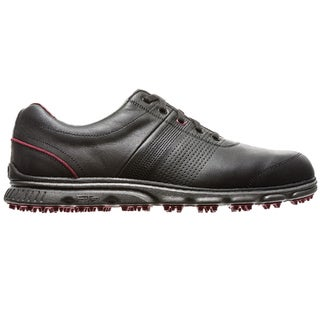 FootJoy Mens DryJoys Casual Spikeless Black Golf Shoes