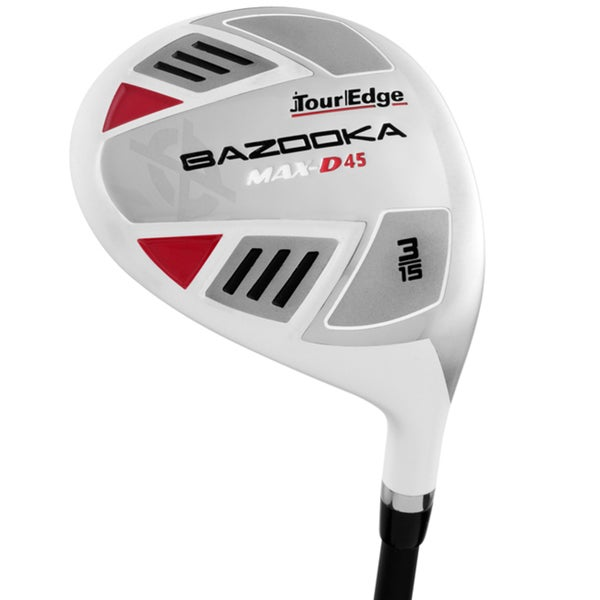 Tour Edge Mens Bazooka Max-D45 Draw Fairway Wood
