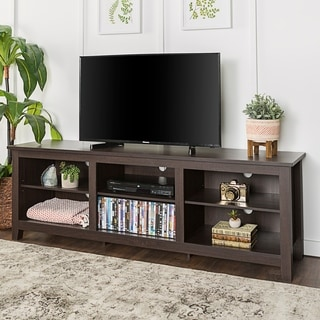 "70"" Essentials TV Stand - Espresso"