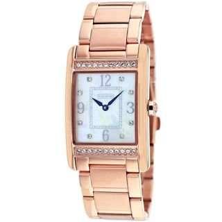 Coach Women's 14501818 'Lexington' Crystal Rose-Tone Stainless Steel Watch