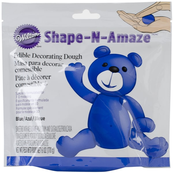 ShapeNAmaze Edible Decorating Dough 6ozBlue