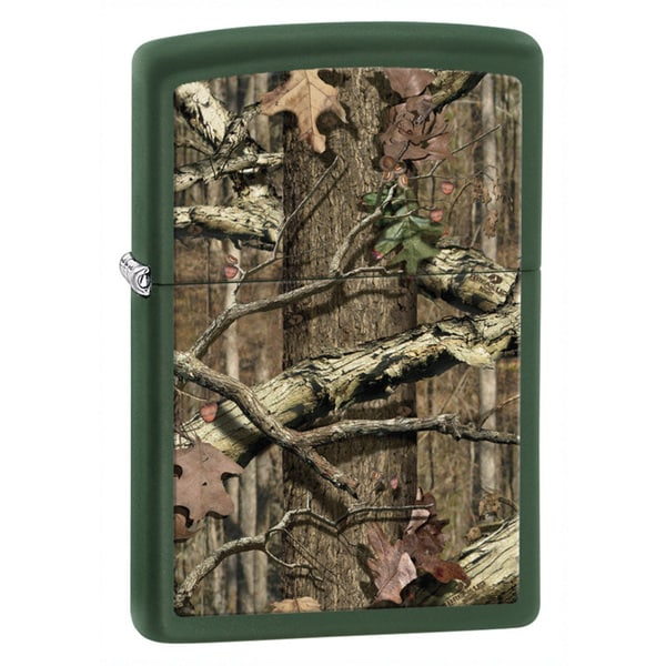 Zippo Mossy Oak Break-Up Infinity Green Matte Lighter