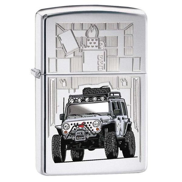 Zippo Zippo Jeep High Polish Chrome Lighter