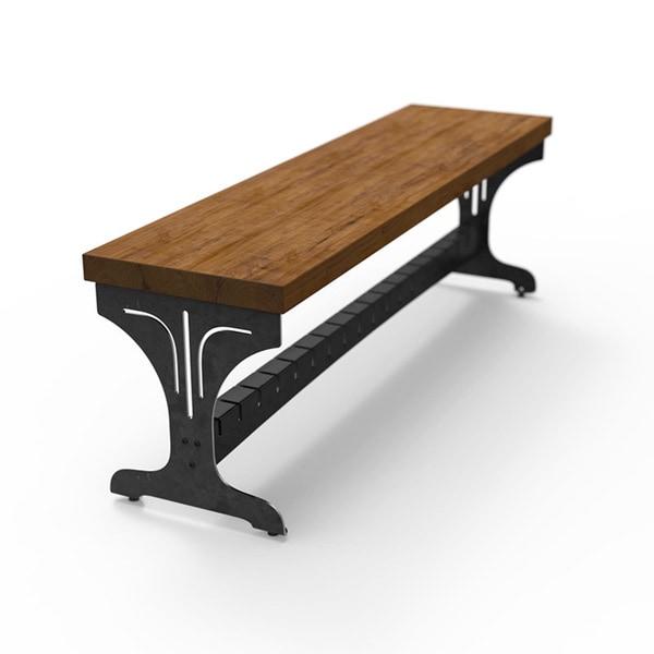 Titus Steel Bench