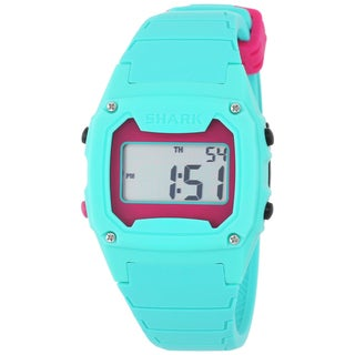 Freestyle Unisex 102281 Classic Green Case Digital Silicone Strap Watch