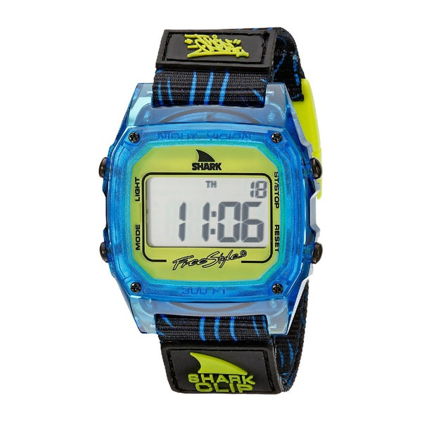 Freestyle Unisex 10017243 Shark Clip Digital Display Japanese Quartz Watch (Blue)