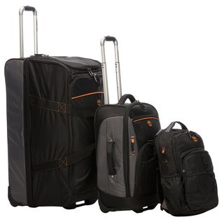 Timberland Hampton Falls 3-piece Travel Luggage Set