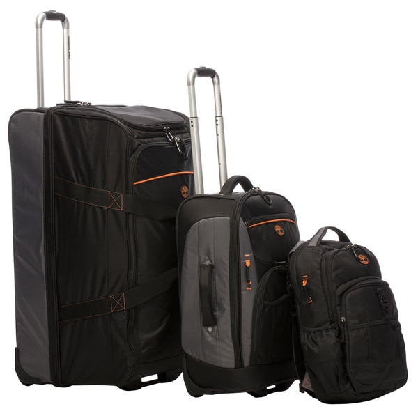 Timberland Hampton Falls 3-piece Travel Luggage Set