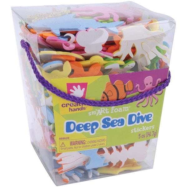 Foam Stickers 5ozDeep Sea Dive