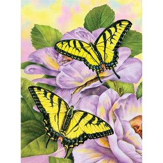 Junior Small Paint By Number Kit 8.75inX11.75inSwallowtail Butterflies