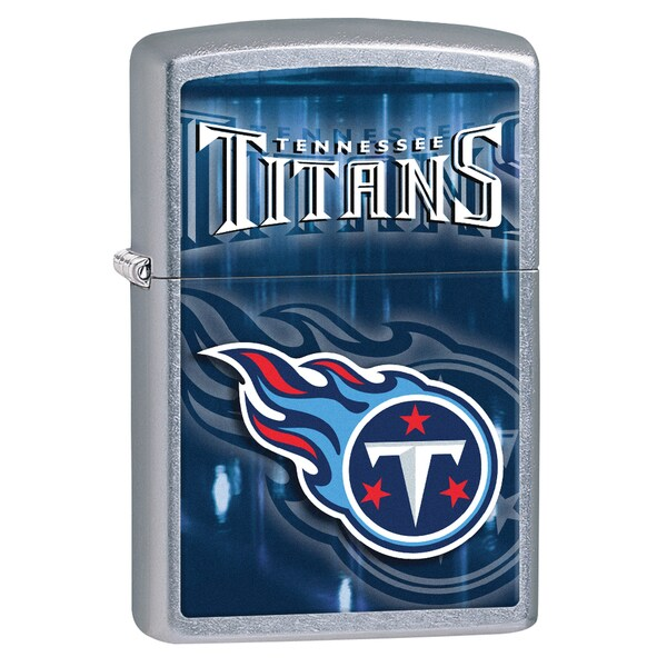 Zippo NFL Tennessee Titans Street Chrome Windproof Lighter 16240949