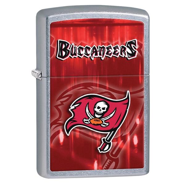 Zippo NFL Tampa Bay Buccaneers Street Chrome Windproof Lighter 16240971
