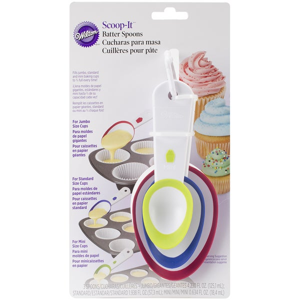 ScoopIt Batter Spoons Set 16241073