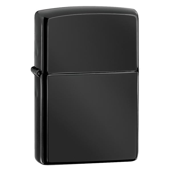 Zippo Black Ebony Windproof Lighter