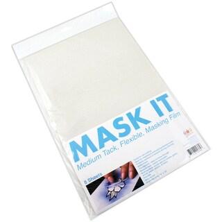 Mask It Medium Tack Sheets 8/Pkg15inX10in